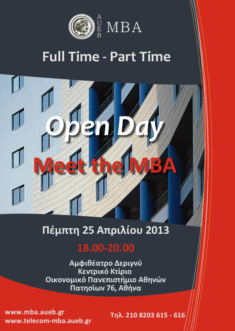 MBA Open Day